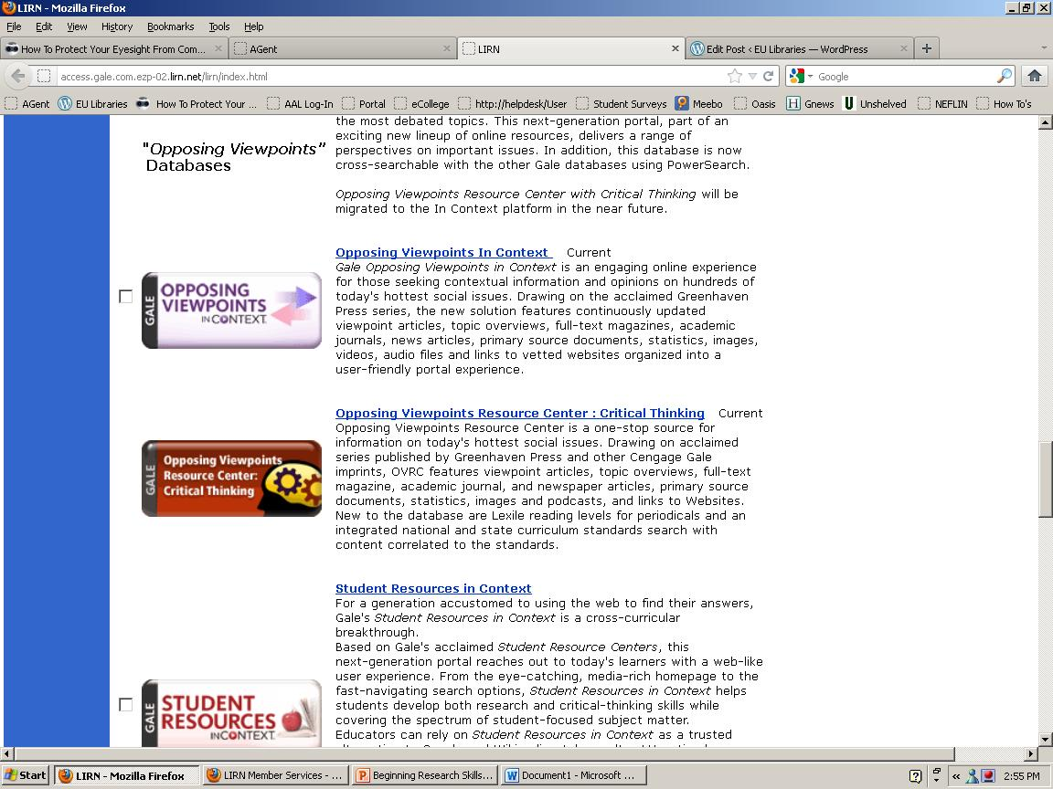 opposing viewpoints Title opposing viewpoints in context category general url http://ez1 maricopaedu:2048/loginurl=.