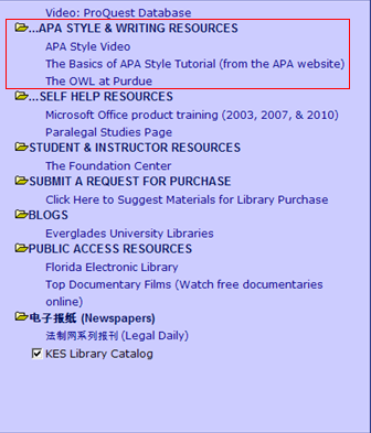 Information Systems writing an apa paper