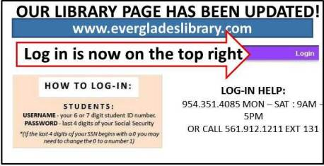 UPDATED LIBRARY PAGE
